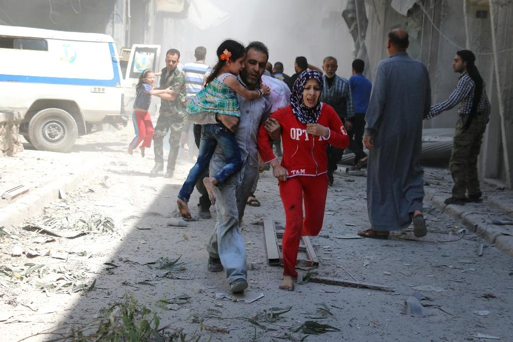 400,000 refugees could head for Turkey if no Aleppo truce: UN envoy