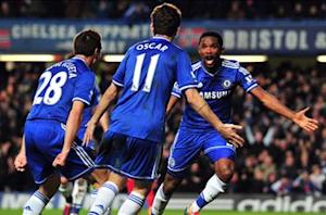 Chelsea 2-1 Liverpool: Eto'o pounces to secure priceless victory for Mourinho's men