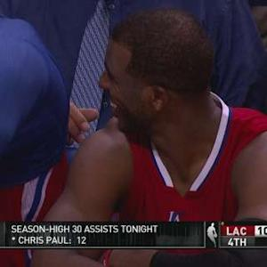 Clippers Get Season-High 31 Assists