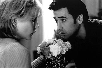 Cate Blanchett and John Cusack in Pushing Tin