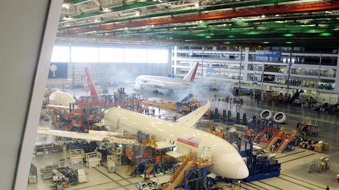 Boeing 787 production continuing in SC