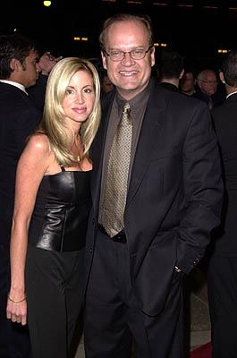 Premiere: Kelsey Grammer and his lovely wife at the Century City premiere of New Line's 15 Minutes - 3/1/2001