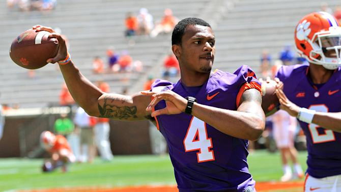 Clemson quarterback Watson on track for full recovery