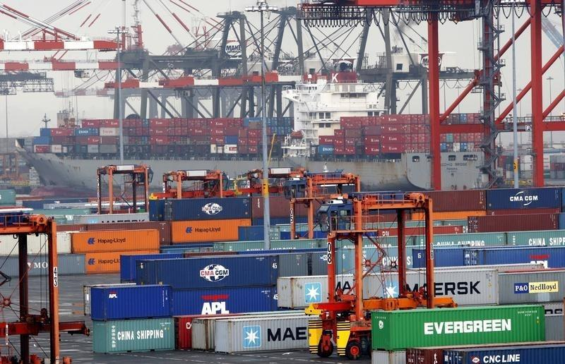 U.S. import prices point to smaller drag on inflation