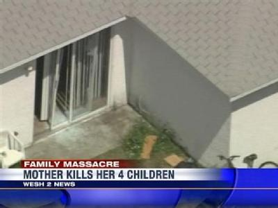 Mother Kills Her 4 Children, Self