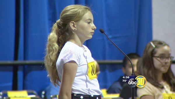 Student gets a second chance in Fresno County spelling bee