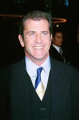 Mel Gibson at the Westwood premiere of Paramount's What Women Want