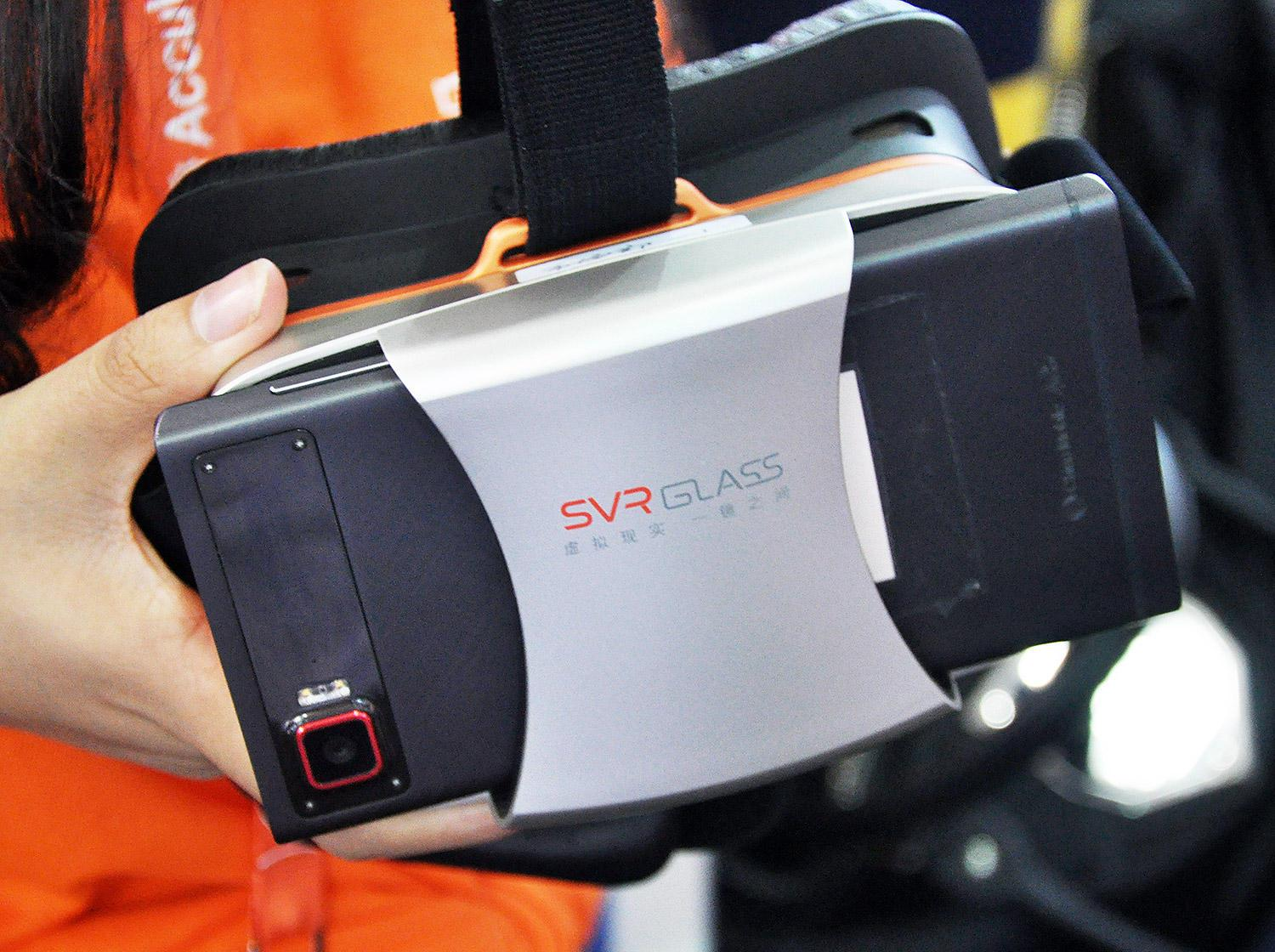 Meet the SVR Glass headset, a cheaper Galaxy Gear VR