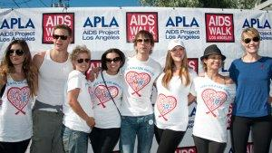 'Popular' Cast Reunites 11 Years Later, Raising $30K for AIDS Walk