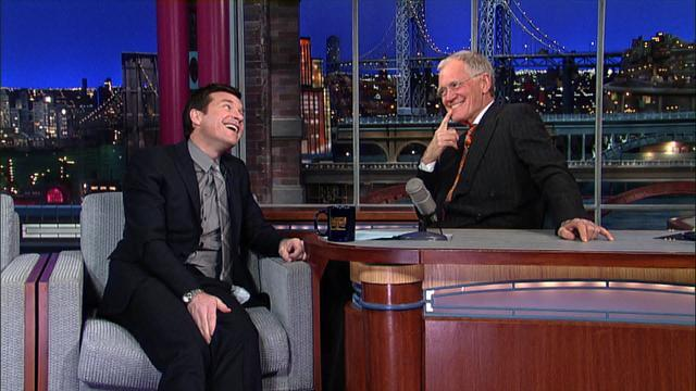 David Letterman - Jason Bateman and Arrested Development