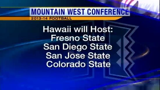 Mountain West Conference releases game dates
