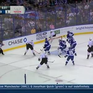 Anaheim Ducks at Tampa Bay Lightning - 11/14/2013