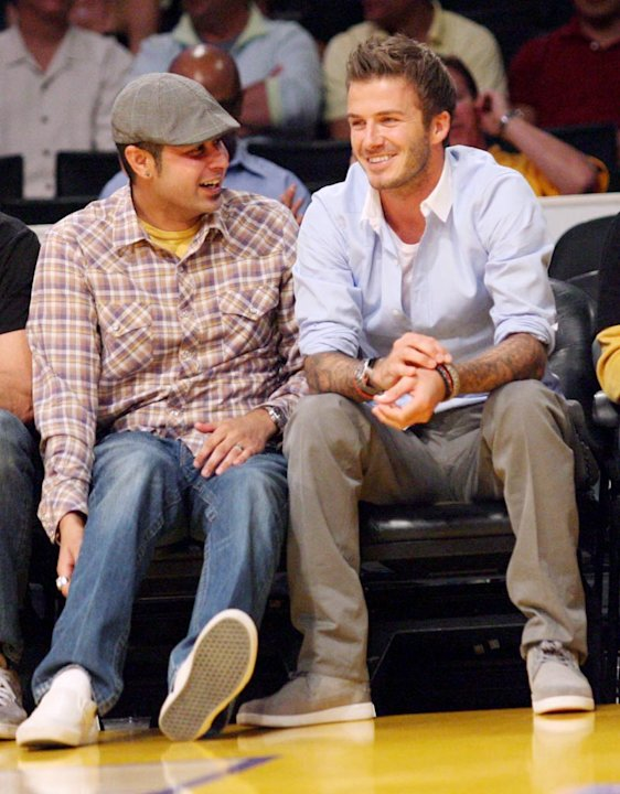 Beckham David Lakers Game