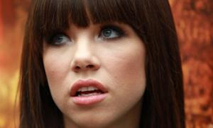 "According to a blowsy Ukrainian, Carly Rae Jepsen's hit single may have been lifted from a song called ""Hunky Santa."""