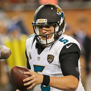 Should Jacksonville Jaguars quarterback Blake Bortles start Week 1?