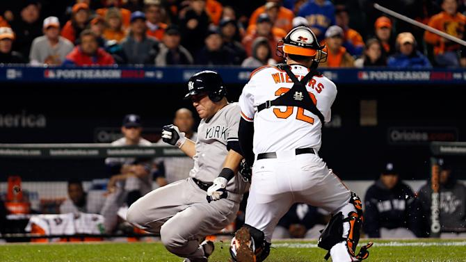 7 New York Yankees v Baltimore Orioles - Game One