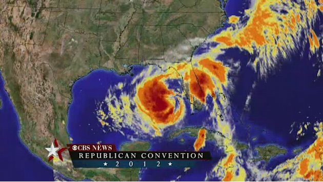 Hurricane Isaac makes landfall …