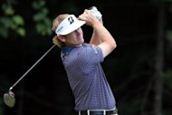 Brandt Snedeker tees off during the Deutsche Bank Championship on September 1. US Ryder Cup captain Davis Love named Steve Stricker, Jim Furyk, Dustin Johnson and Snedeker as his captain's wildcard picks for the American Ryder Cup team