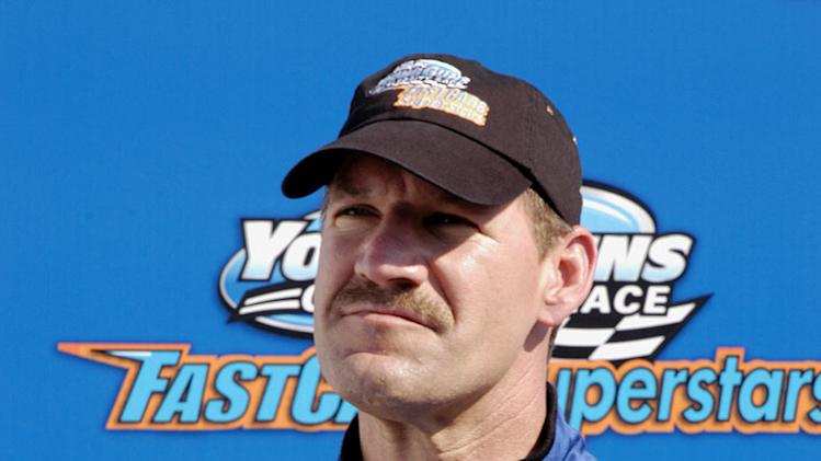 Bill Cowher competes in Fast Cars & Superstars -- The Gillette Young Guns Celebrity Race.