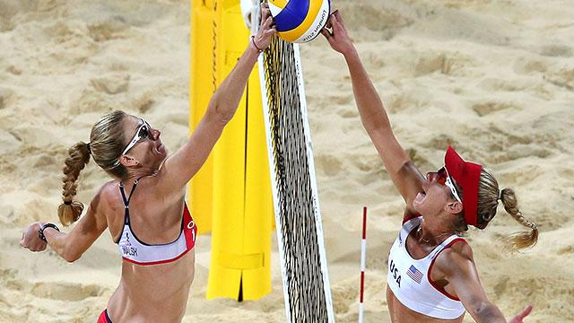 SPOILER: USA vs. USA in Beach Volleyball Final