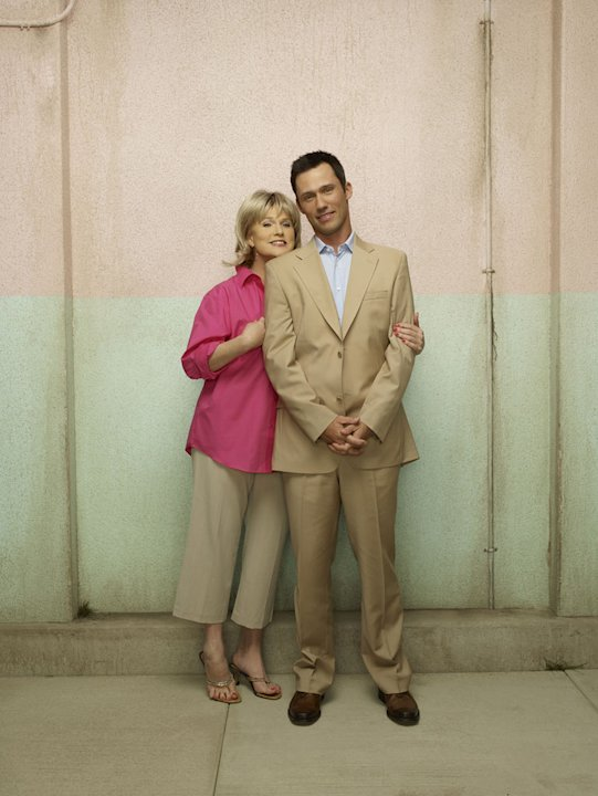 Sharon Gless as Madeline Westen and Jeffrey Donovan as Michael Westen in &quot;Burn Notice.&quot; 