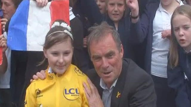 Warm welcome for Tour hero Hinault