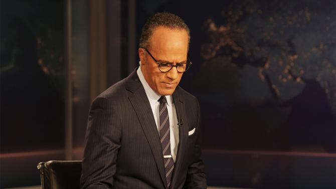 Lester Holt Trumps David Muir And Pope Francis In Early Ratings