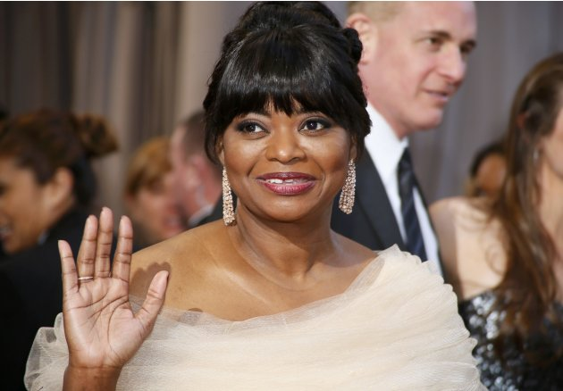 Presenter and former Academy Award winner Octavia Spencer arrives at the 85th Academy Awards in Hollywood, California