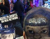 Only A Rangers Fan Could Love This Terrifying Haircut (PHOTO)