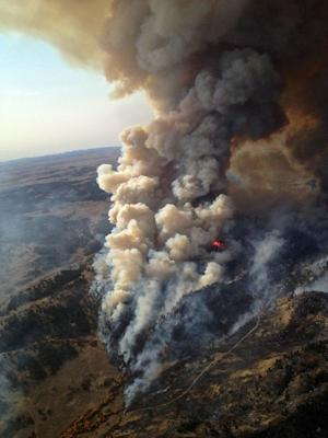 2012 Wildfire Season Hits 2nd-Largest Area Since 1960s