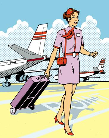 airline employee