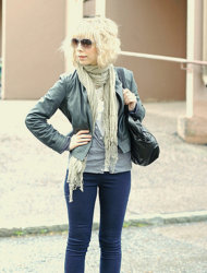 Jackets are scarves are fun accessories to carry your summer essentials into fall.