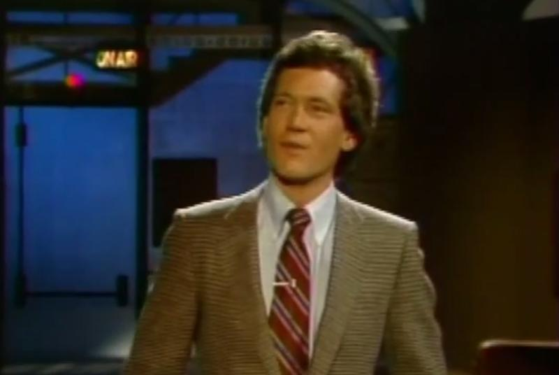 Before he says goodbye, watch David Letterman's very first late night show