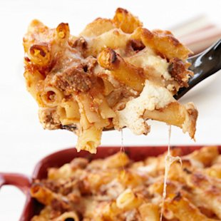 Speedy Baked Ziti recipe photo by Pernille Pedersen.
