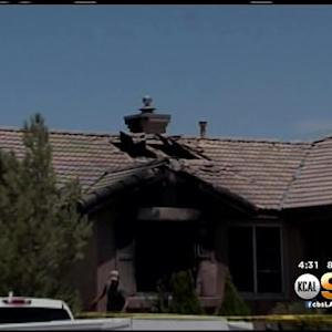 House Fire Kills Man, 2 Dogs In Adelanto