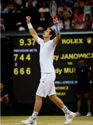 Andy Murray Wimbledon Win Sets U.K. Twitter Record