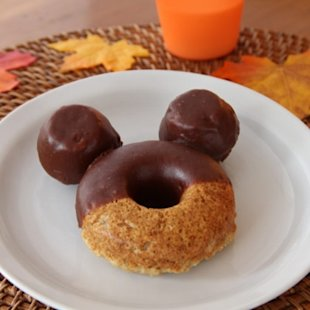 Apple Mickey Donut!