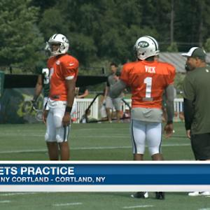 Brian Billick analyzes New York Jets practice