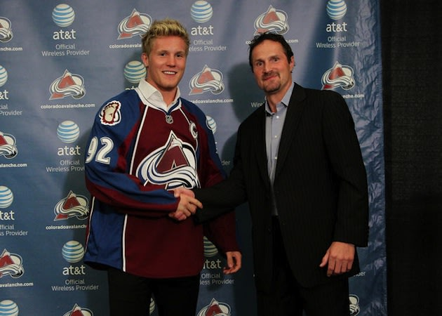 Captain Landeskog