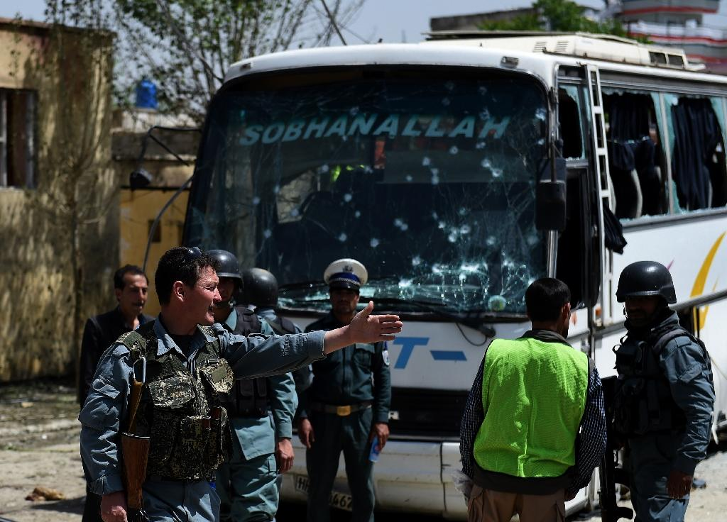Suicide attack on Kabul bus kills one, wounds 15: officials