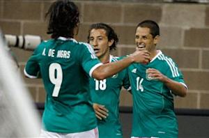 Mexico 2-2 Nigeria: 10-man El Tri comes back to draw in Houston