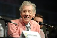 Sir Ian McKellen speaks at the preview of 'The Hobbit: An Unexpected Journey' during Comic-Con 2012 in San Diego on July 14, 2012  -- Getty Premium