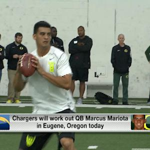 How serious are the Chargers about drafting Marcus Mariota?