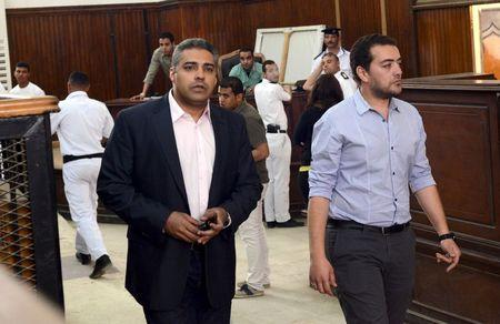 Amnesty says Egypt using courts and jail to intimidate journalists