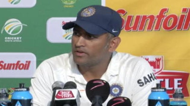 Indian captain MS Dhoni blamed his sides poor batting performance as the reason for their 10 wicket defeat to South Africa in the second test