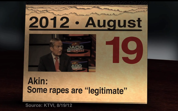 The Republican Rehabilitation of Todd Akin Has Begun