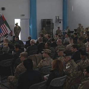 Ceremony marks formal end of the war in Afghanistan