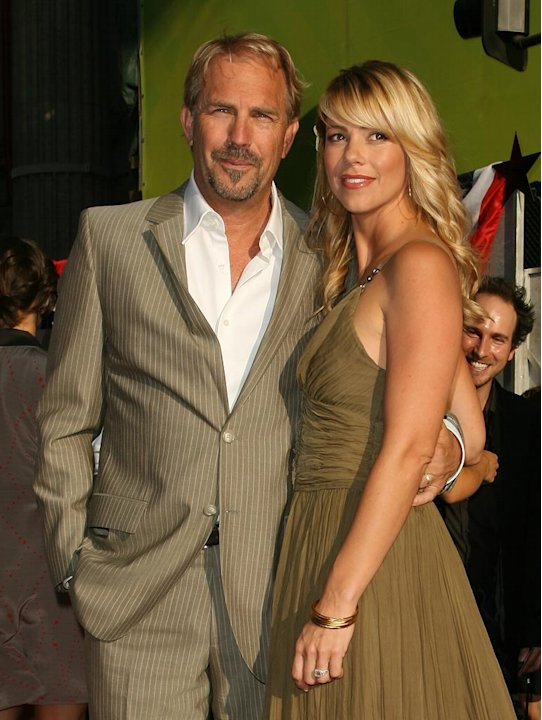 Swing Vote LA Premiere 2008 Kevin Costner Christine Baumgartner