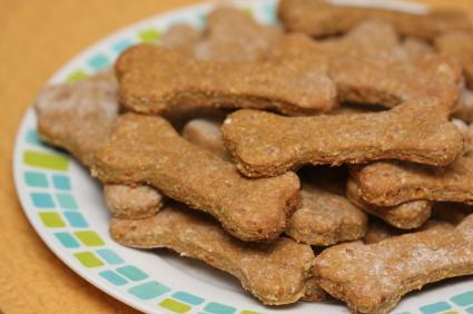 Nutty Bacon Dog Treats