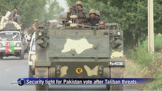 Security tight for Pakistan vote after Taliban threat